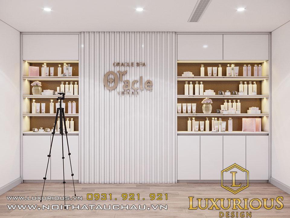 Phòng trưng bày mỹ phẩm và chụp ảnh