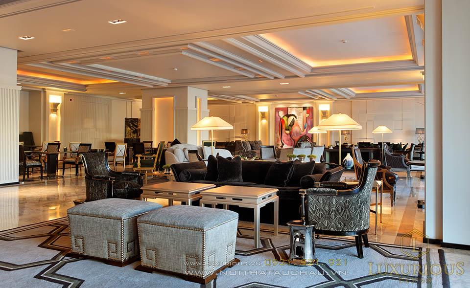Thi công nội thất Khách sạn 5 sao đẳng cấp Châu Âu