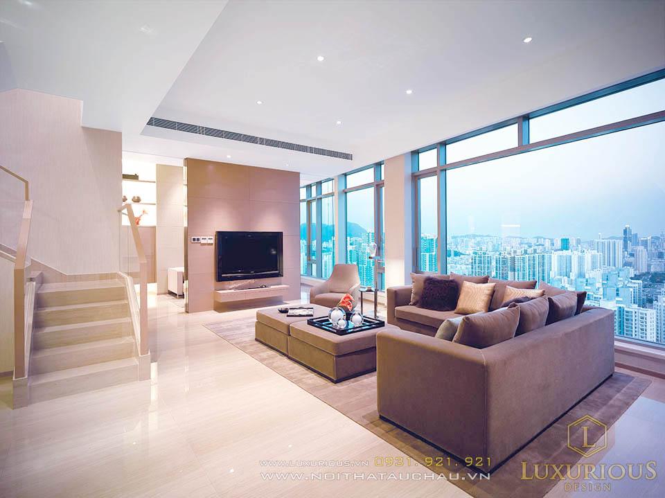 Thi công nội thất penthouses cao cấp 150m2
