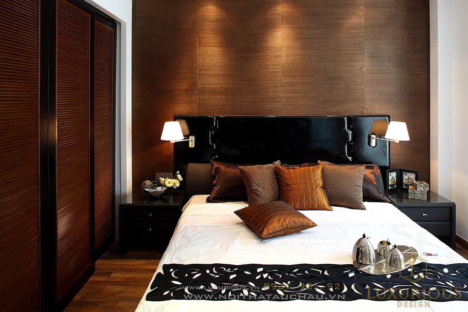 Mẫu phòng ngủ biệt thự hiện đại đẹp