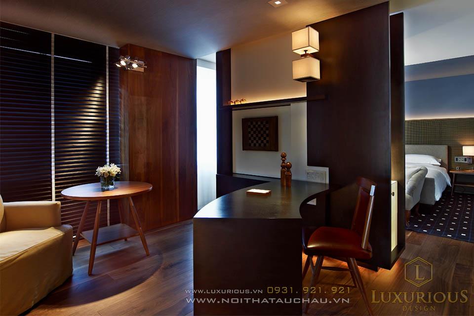 Thiết kế thi công nội thất chung cư cao cấp 100m2
