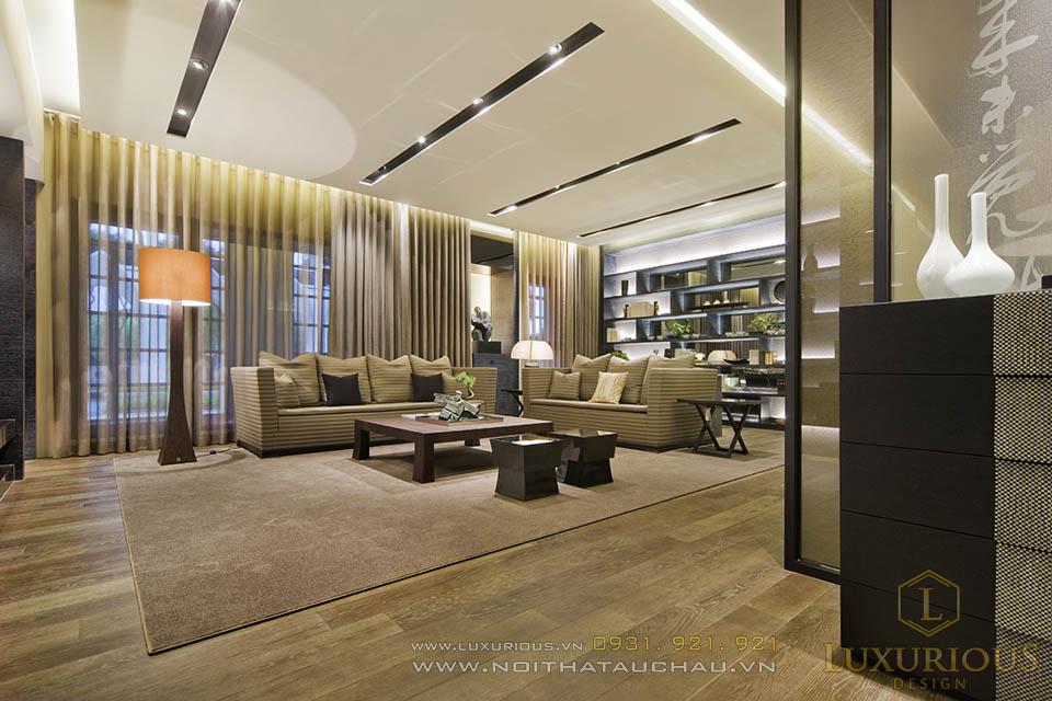 Thiết kế thi công trọn gói chung cư cao cấp 150m2