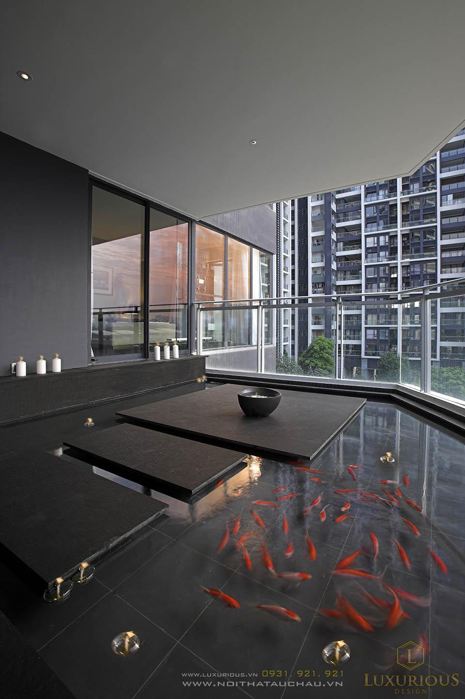 Thiết kế thi công nội thất penthouses tại TP Hồ Chí Minh