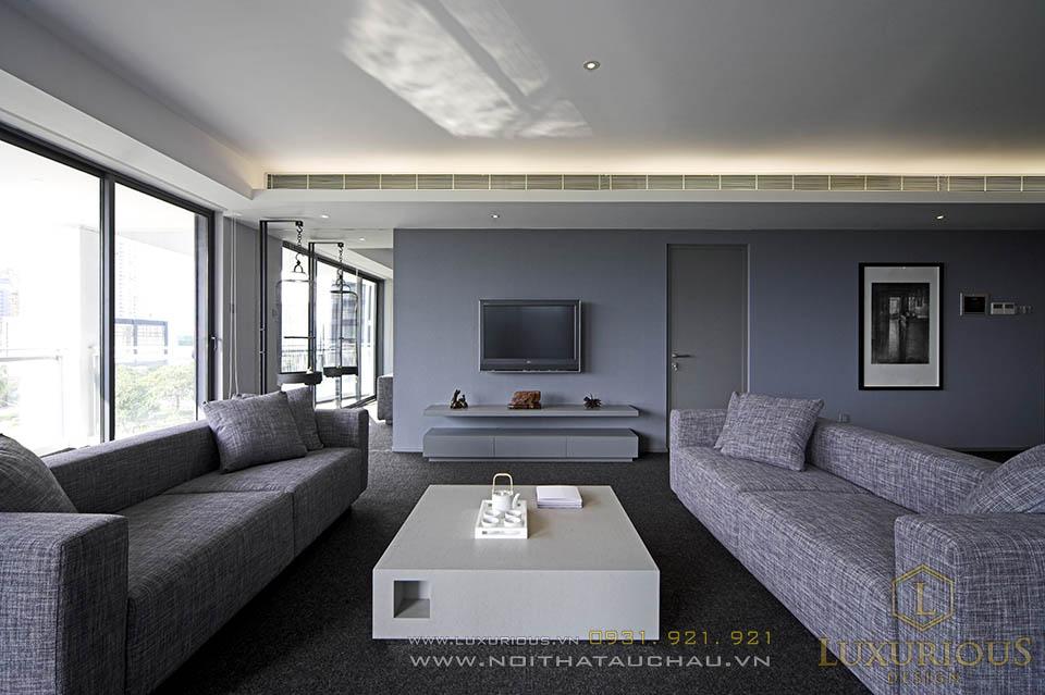 Thi công nội thất chung cư Penthouses tp Hồ Chí Minh