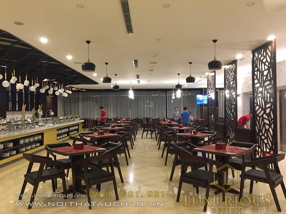 Thi công nhà hàng CM Nha Trang