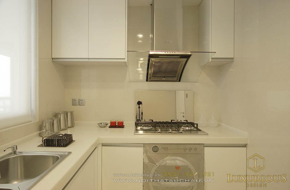 Thiết kế nội thất nhà bếp hiện đại sang trọng