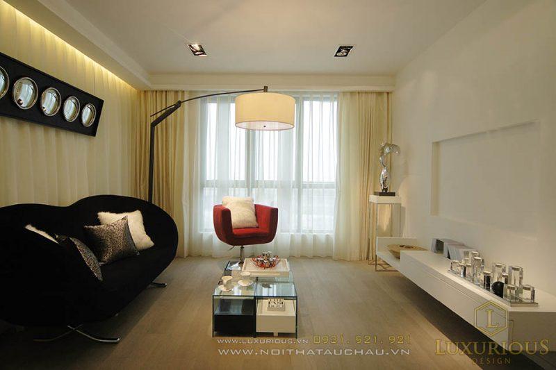 Thiết kế nội phòng khách nhà phố