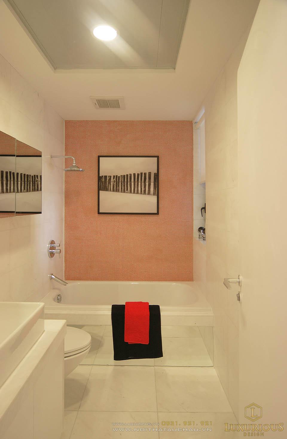 thiết kế thi công nội thất phòng vệ sinh