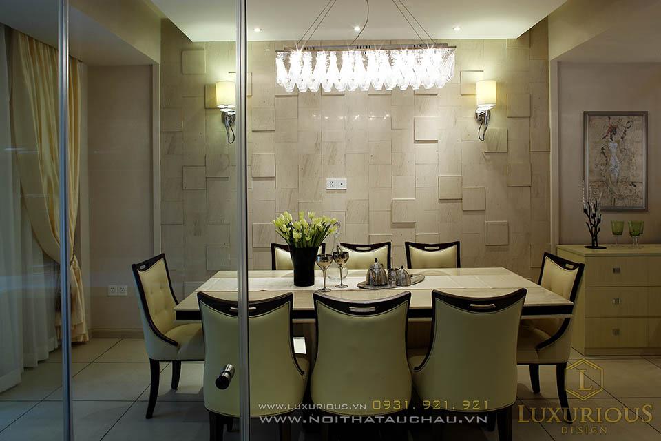 Thiết kế nội thất phòng ăn nhà phố