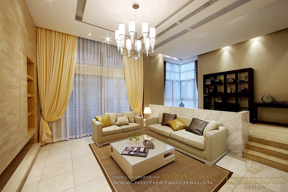 Thiết kế thi công nội thất nhà phố Hải Dương