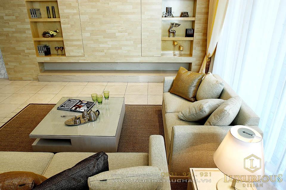 Thi công nội thất trọn gói nhà phố Hải Dương