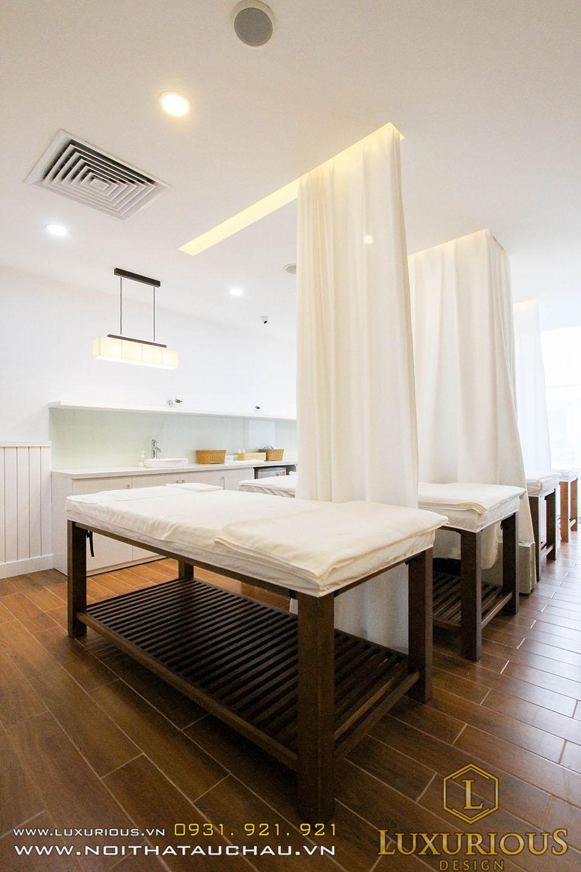Thi công nội thất phòng massage true skin