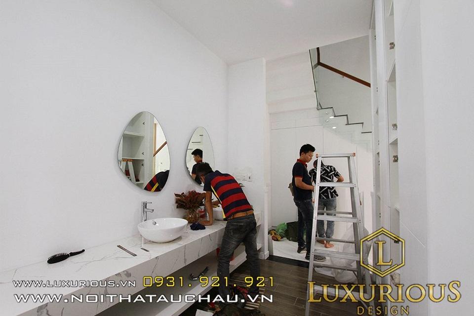 LuxuriouS Design Đơn vị thi công nội thất chuyên nghiệp