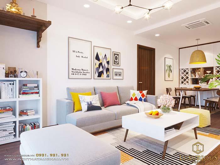 Thiết kế nội thất chung cư diện tích nhỏ 30m2