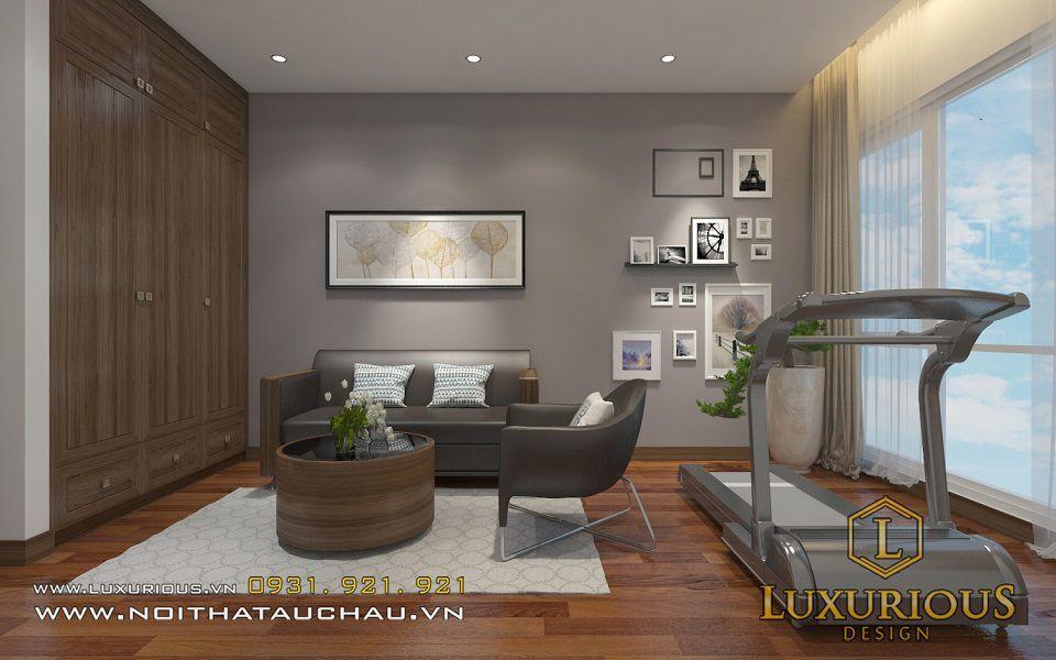 Thiết kế nội thất phòng sinh hoạt chung Mandarin Anh Đức Anh