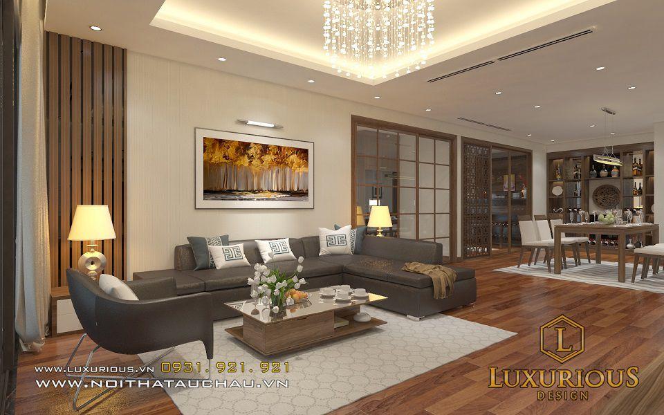 Thiết kế nội thất chung cư Mandarin anh Đức Anh