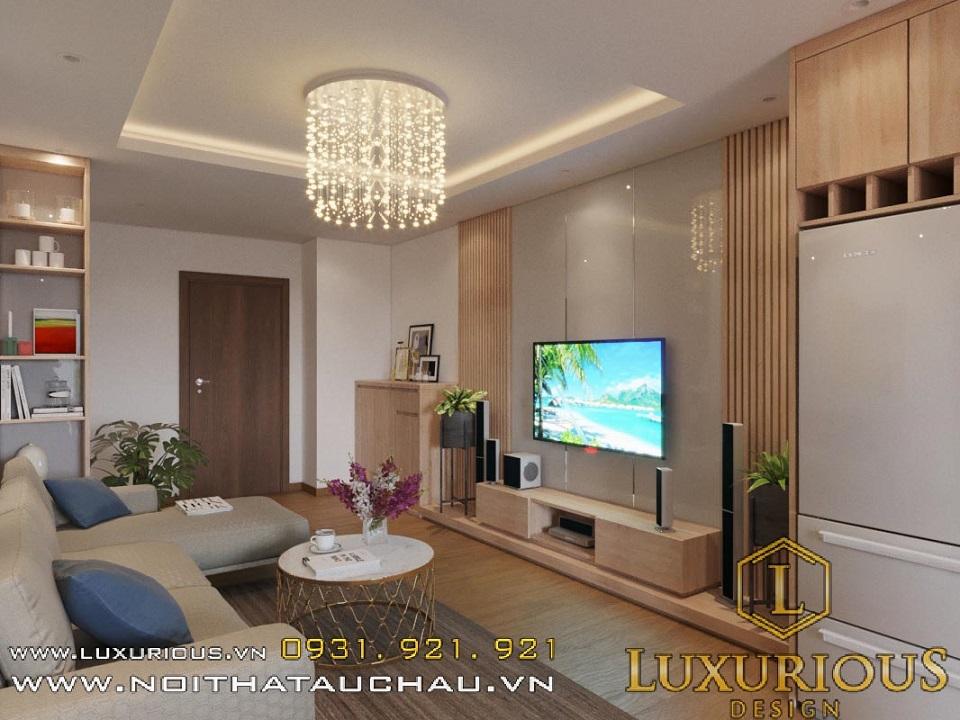 Thiết kế nội thất chung cư diện tích nhỏ Hateco