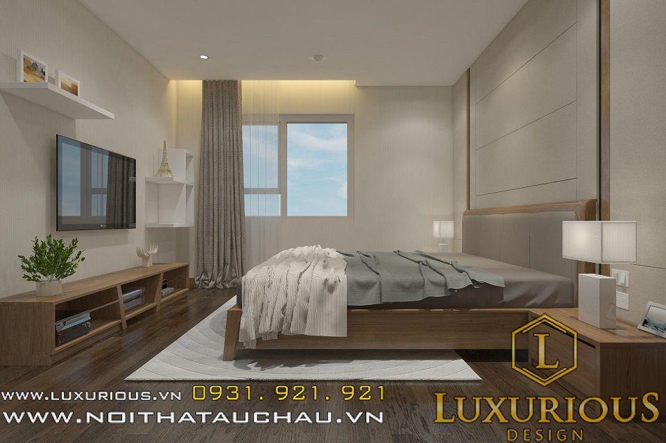 Mẫu nội thất phòng ngủ chung cư Mandarin