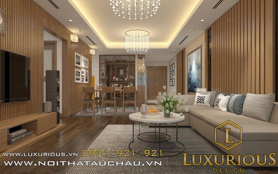 Mẫu thiết kế nội thất chung cư Mandarin