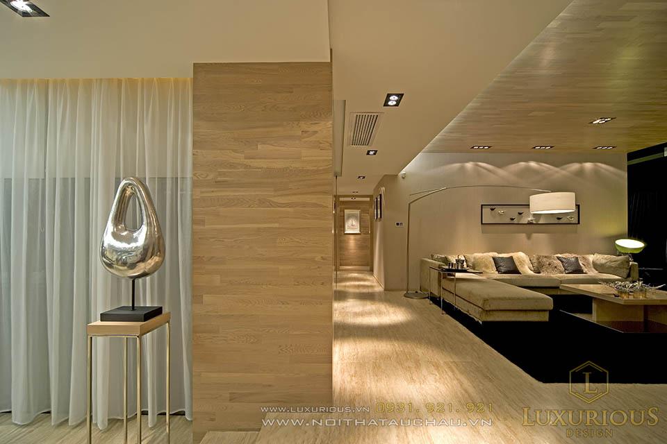 thi công nội thất chung cư 120m2 ở Cầu Giấy Hà Nội