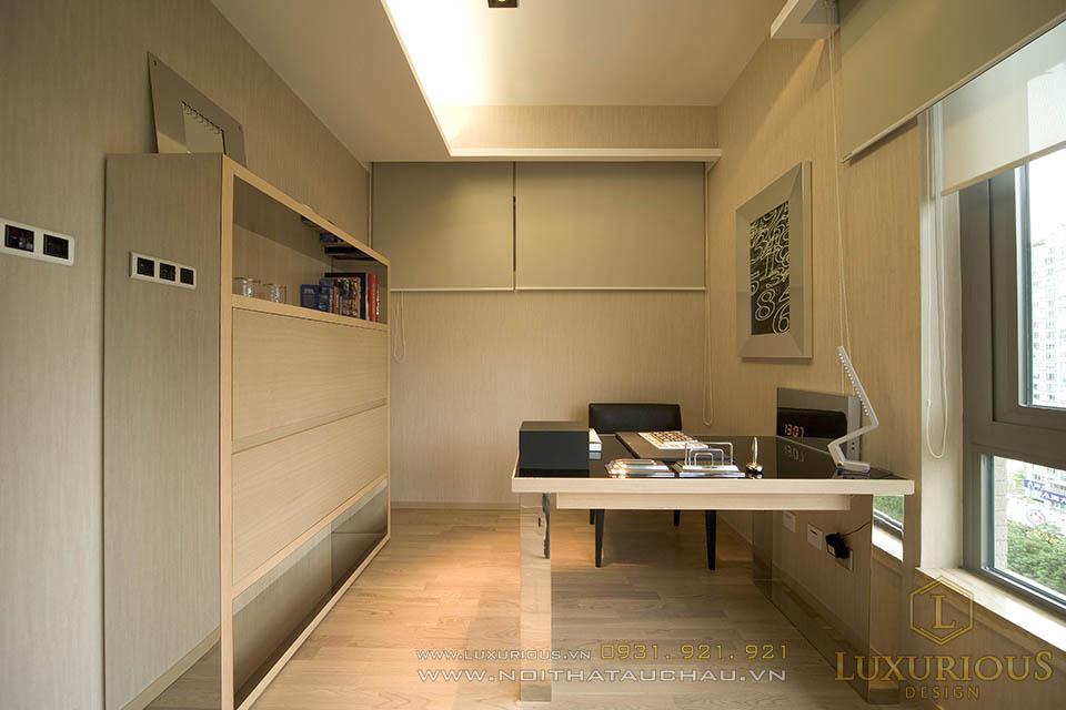 Thi công nội thất nhà chung cư 120m2 Cầu giấy