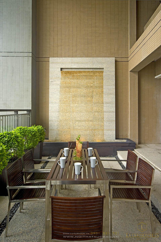 Thiết kế thi công nội thất ban công nhà chung cư 120m2