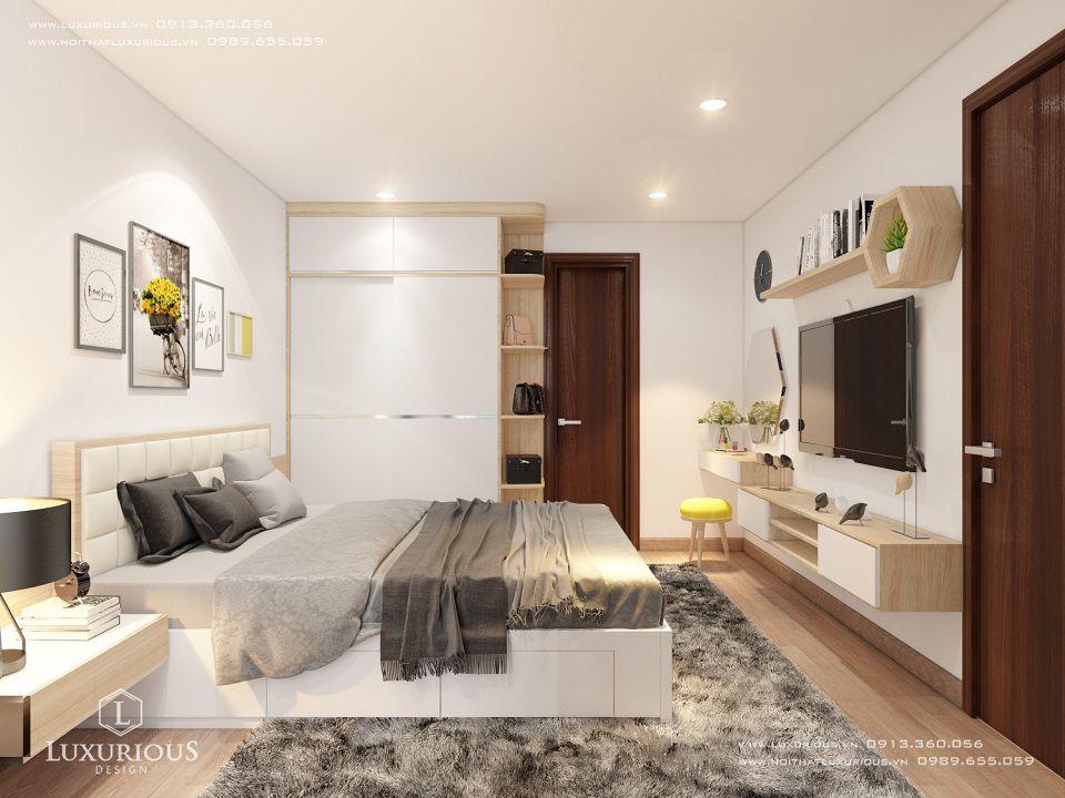 Phòng ngủ thiết kế nội thất nhà chung cư Centrepoint