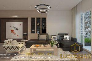 Mẫu thiết kế nội thất chung cư Ecolite 3 phòng ngủ