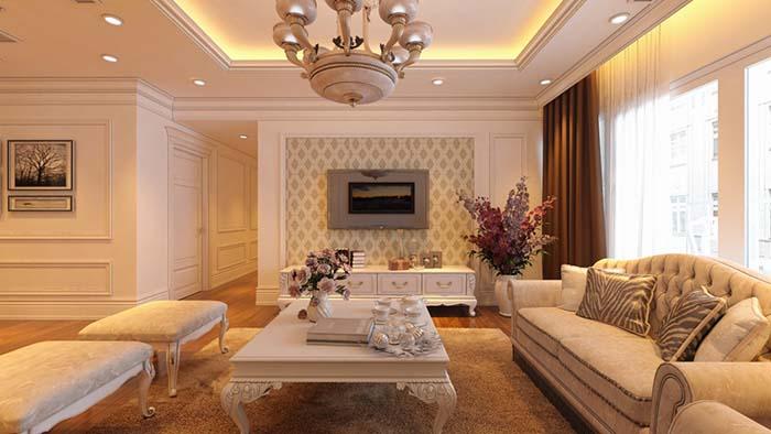 Thiết kế nội thất chung cư goden palace