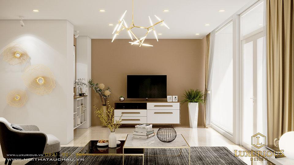 Thiết kế nội thất ecopark vườn tùng phòng khách