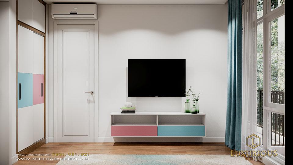 Thiết kế nội thất biệt thự ecopark vườn tùng