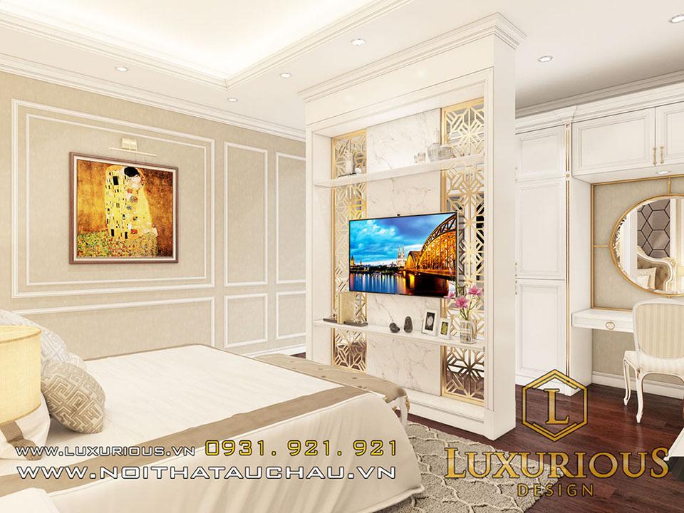 Thiết kế nội thất biệt thự tân cổ điển Hà Tĩnh