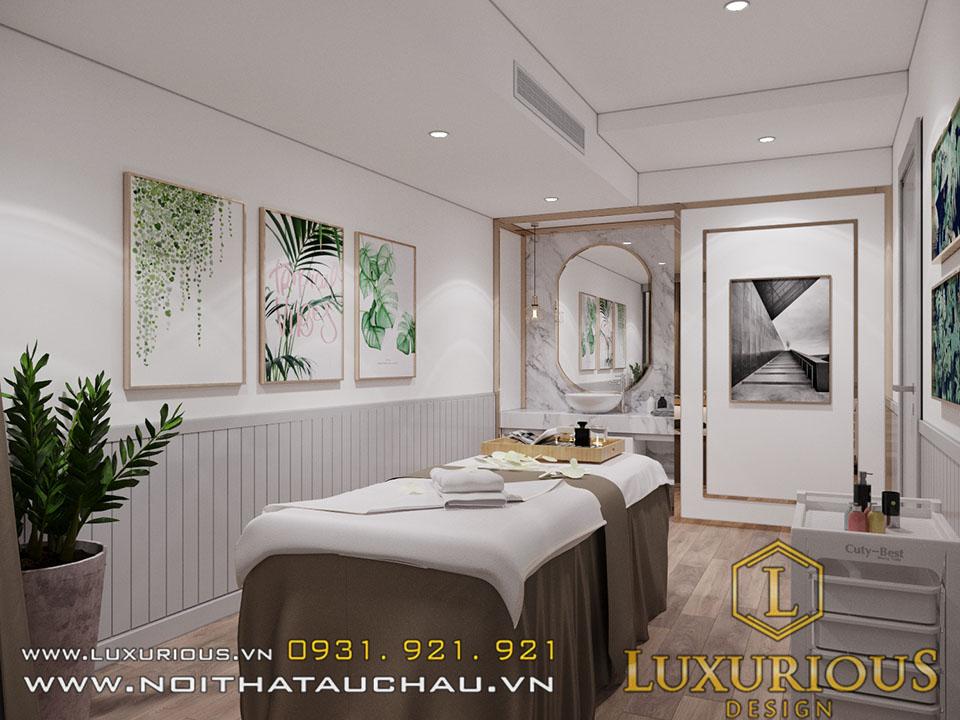 Thiết kế nội thất spa oracle