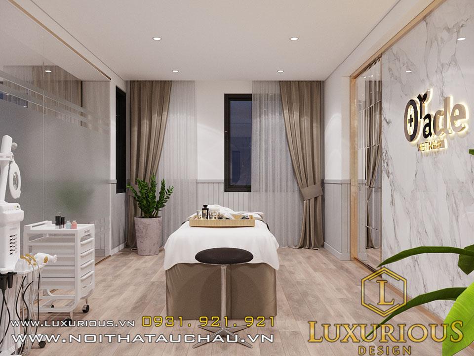 thiết kế nội thất spa triệu việt vương