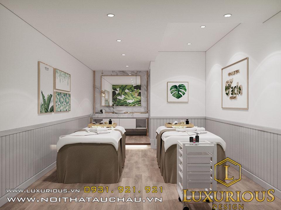 thiết kế nội thất thẩm mỹ viện oracal