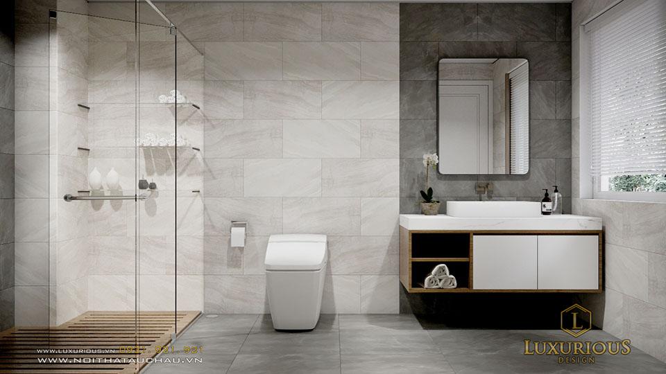 Thiết kế phòng tắm ecopark