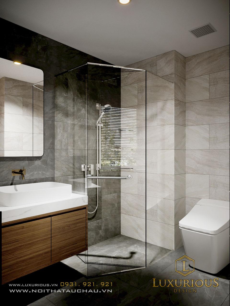 Thiết kế phòng vệ sinh