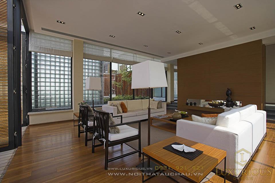 Mẫu thiết kế thi công nội thất trọn gói nhà biệt thự cao cấp