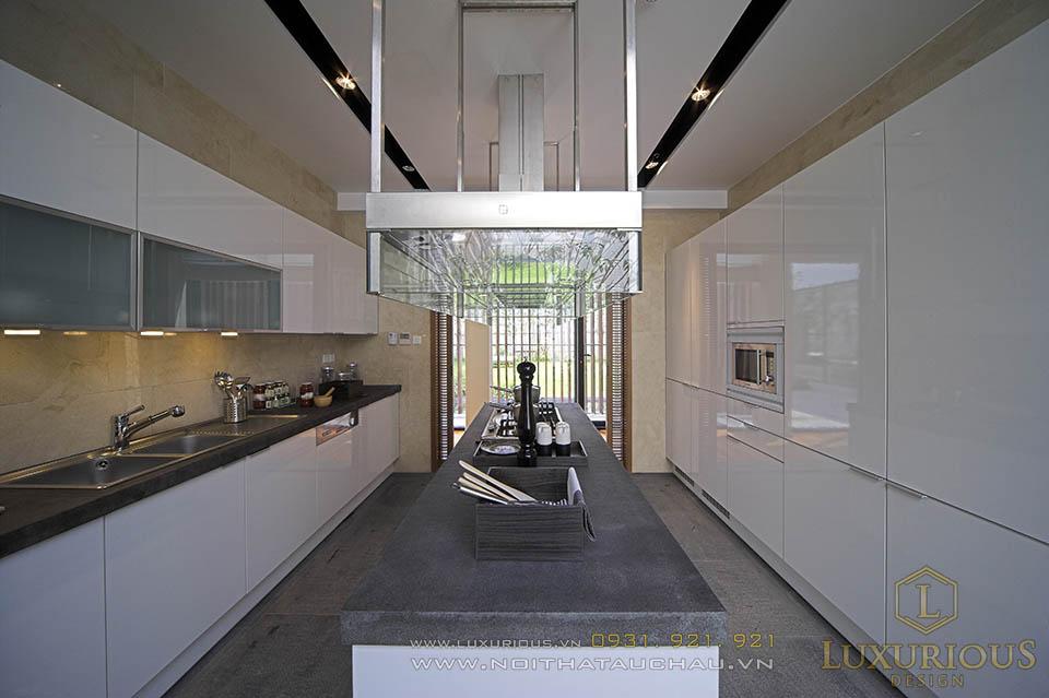 Thiết kế thi công nội thất nhà biệt thự hiện đại
