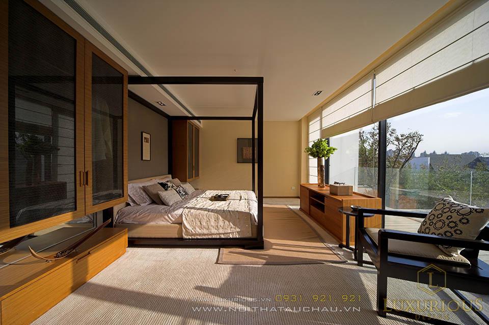 Mẫu thiết kế nội thất nhà biệt thự hiện đại
