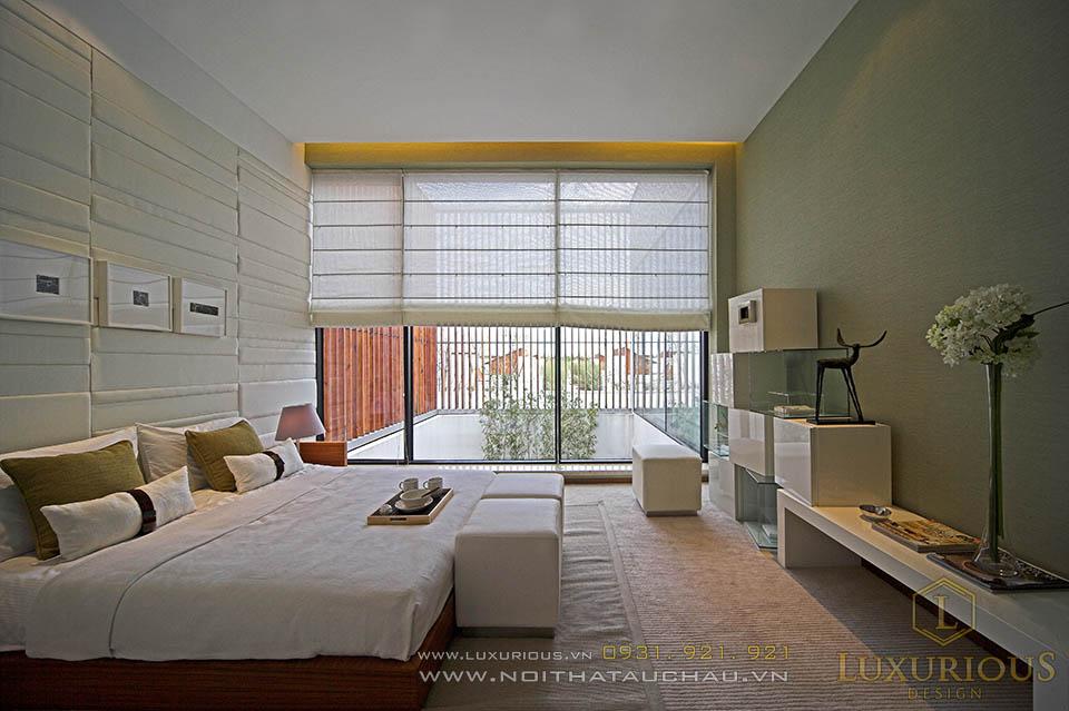 Giá nội thất phòng ngủ hiện đại nhà biệt thự