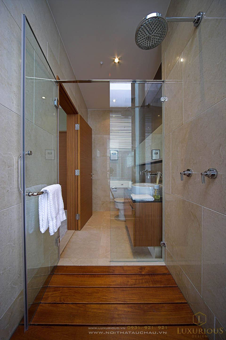 Thiết kế nhà vệ sinh nhà biệt thự hiện đại
