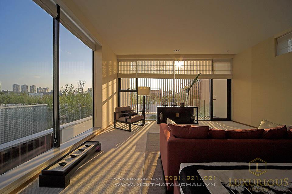 Thiết kế nhà biệt thự 4 phòng ngủ