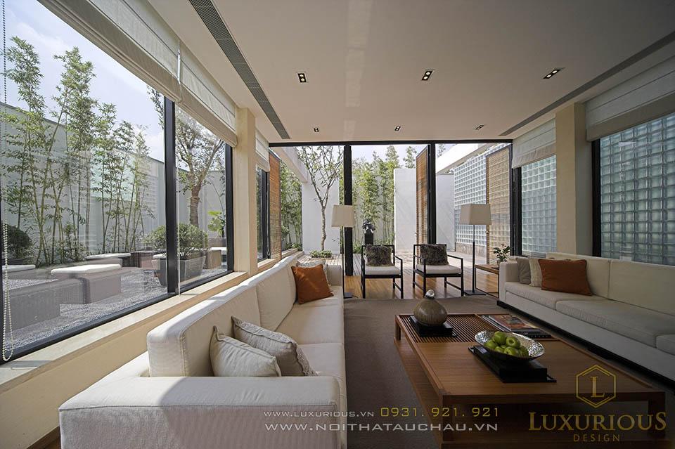 Thiết kế thi công nội thất trọn gói biệt thự nhà vườn