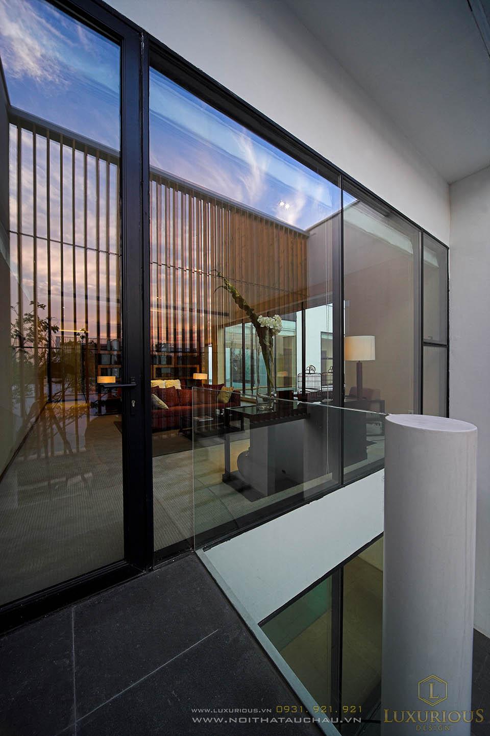 Thiết kế thi công nội thất nhà biệt thự 4 phòng ngủ