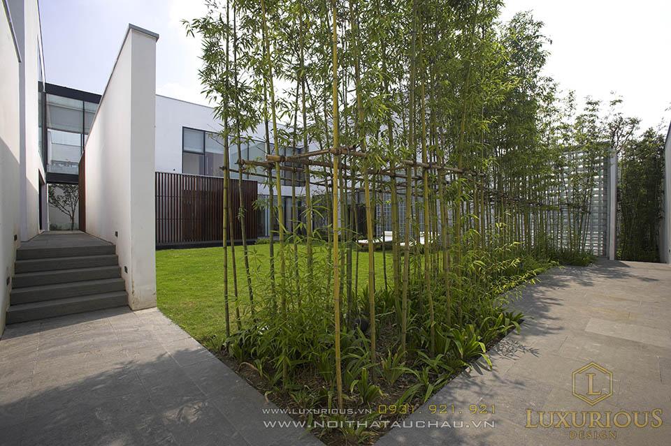 Thiết kế thi công nhà biệt thự sân vườn cao cấp