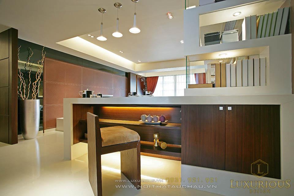 Thiết kế thi công nội thất chung cư 90m2 2 phòng ngủ