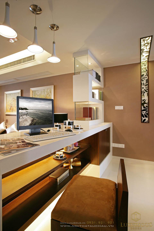 Thi công trọn gói căn hộ chung cư 90m2
