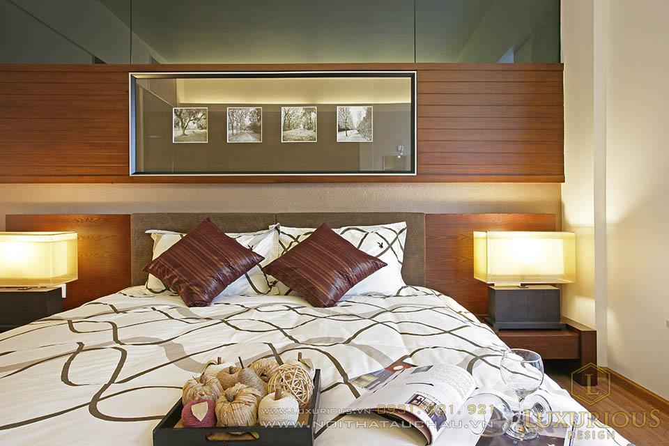 Mẫu thiết kế nội thất phòng ngủ chung cư 90m2