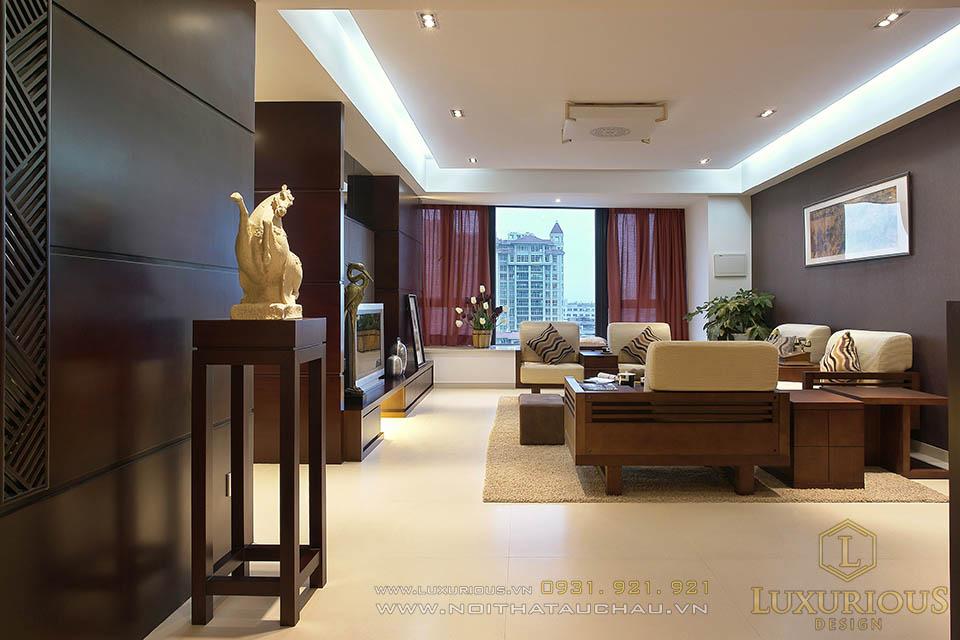 Thi công nội thất trọn gói chung cư cao cấp Thanh Xuân Hà Nội